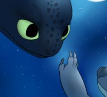 How to Train Stitch's Dragon Sticker
