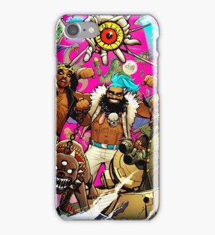 Flatbush Zombies tour iPhone Case/Skin