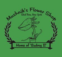 Mushnik's Flower Shop by GradientPowell