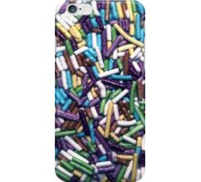 Candies background iPhone Case/Skin