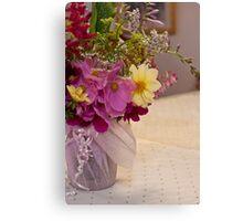 Garden Fresh Bouquet Canvas Print