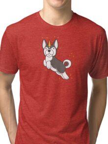Husky Unidog Tri-blend T-Shirt