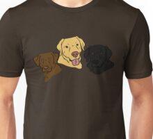 The Three Labradors Unisex T-Shirt