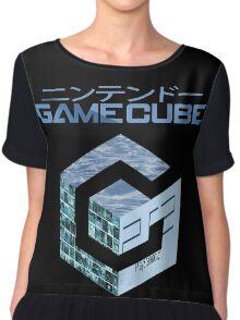 Vaporwave Gamecube Chiffon Top