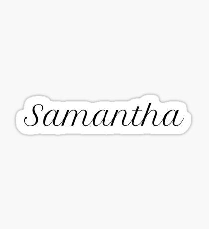 Samantha Sticker