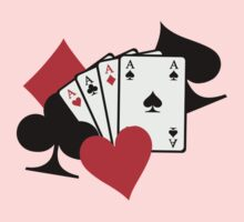Poker signs cards Kids Clothes