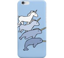Unicorn Narwhal Evolution iPhone Case/Skin