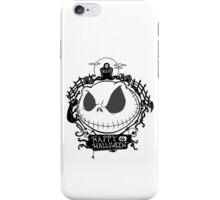 Happy Halloween Nightmare Style iPhone Case/Skin