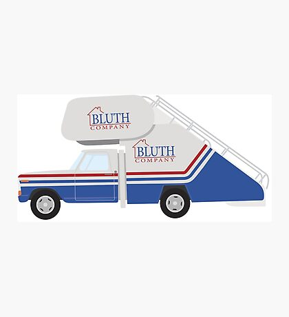Bluth Staircar Photographic Print