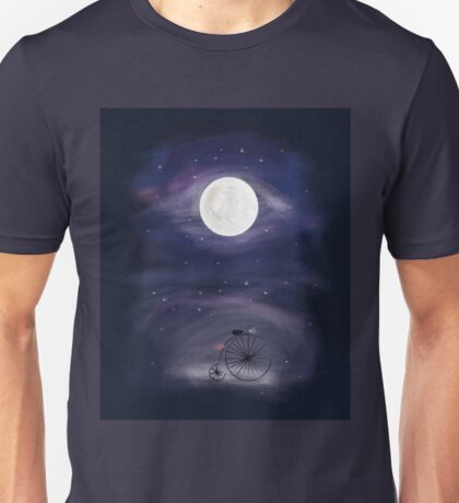 A ride to the Moon  Unisex T-Shirt