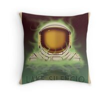 Lake Silencio Throw Pillow