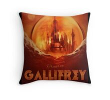 Visit Gallifrey! Throw Pillow