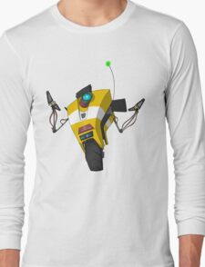Claptrap Sticker Long Sleeve T-Shirt