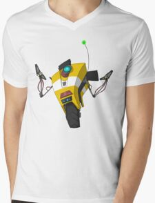Claptrap Sticker Mens V-Neck T-Shirt