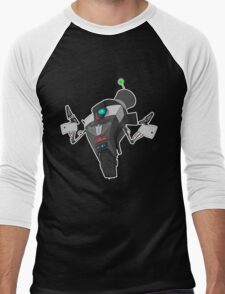Fancy Claptrap Sticker Men's Baseball ¾ T-Shirt
