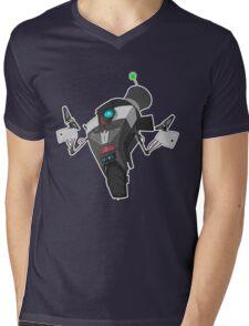 Fancy Claptrap Sticker Mens V-Neck T-Shirt