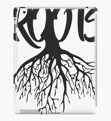 Roots Style art iPad Case/Skin