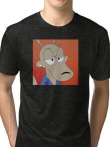 Rocko Halftone Tri-blend T-Shirt