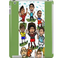 The World Cup Toons iPad Case/Skin