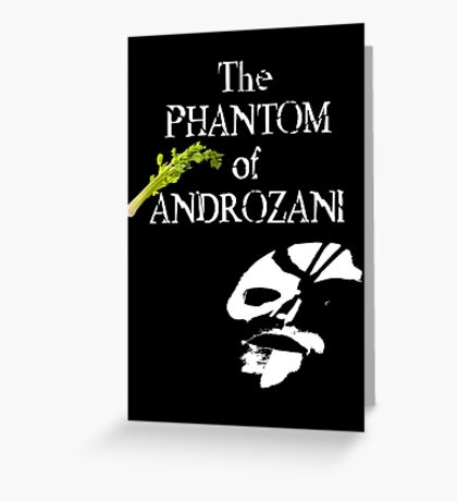 The Phantom of Androzani Greeting Card