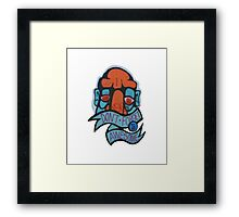 Don't Forget To Be Awesome Framed Print