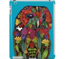 tawny owl blue iPad Case/Skin