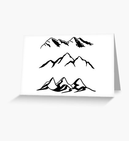 Mountain Series  Greeting Card