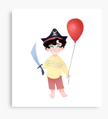 Baby Pirate Holmes Canvas Print