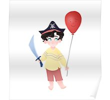 Baby Pirate Holmes Poster