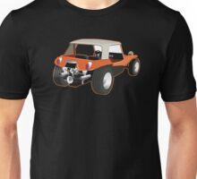 Dune Buggy Back Orange Outline Unisex T-Shirt