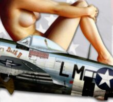 Miss Fire (Republic P-47 Thunderbolt) Sticker