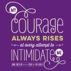 "Jane Austen: ""My Courage Always Rises"" by Jenn Reese"