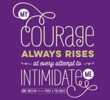 "Jane Austen: ""My Courage Always Rises"" by Jenn Reese"