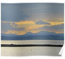 A Mellow Sunset Over Inch Island..................................Ireland Poster