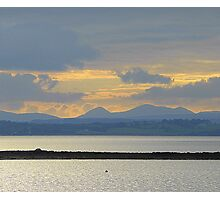 A Mellow Sunset Over Inch Island..................................Ireland Photographic Print