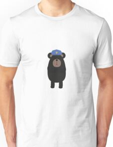 Grizzly Police Officer Unisex T-Shirt