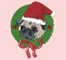 Christmas Pug Kids Tee