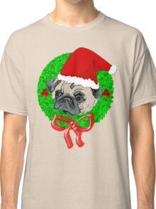 Christmas Pug Classic T-Shirt