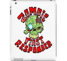 Zombie First Responder Volunteer iPad Case/Skin