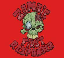 Zombie First Responder Volunteer One Piece - Short Sleeve