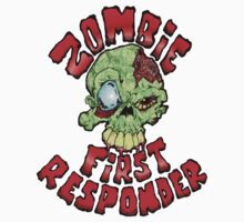 Zombie First Responder Volunteer One Piece - Short Sleeve
