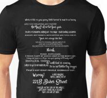 Sherlock - Best Quotes from Sherlock Unisex T-Shirt