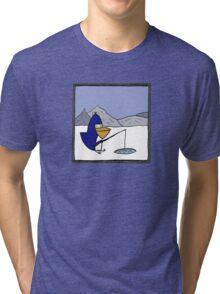 P.N.Guinn goes fishing Tri-blend T-Shirt