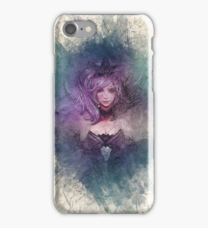 Elementalist Lux Dark Canvas  iPhone Case/Skin