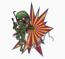 Boba Fett Ready to Fire Kids Clothes