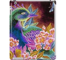 Paradise Bird in Blossoms iPad Case/Skin