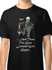 The Great Lalafell War Begins Classic T-Shirt