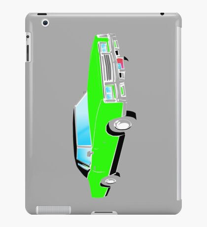 American Car - GREEN iPad Case/Skin