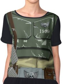 Guard 1999 Armour Chiffon Top