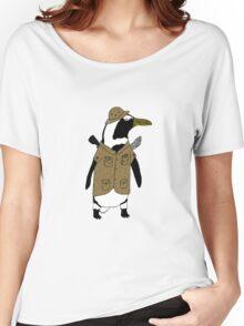 Penguin on safari Women's Relaxed Fit T-Shirt